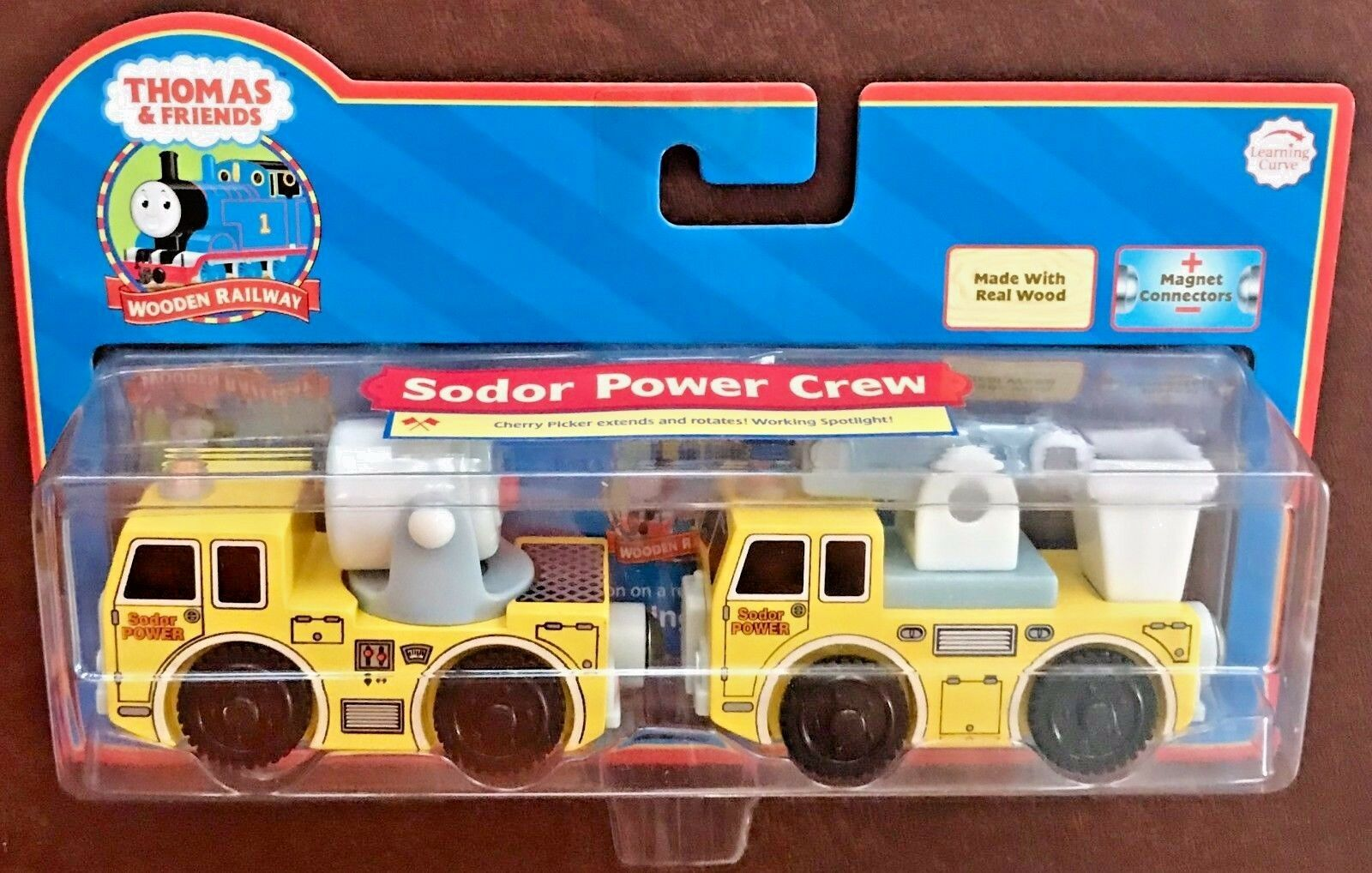 Thomas & Friends Wooden Railway Sodor Power Crew  LC99128