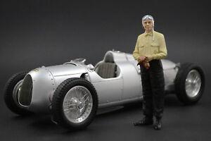 Bernd Rosemeyer Figure Pour 1:18 Auto Union Typ D Cmc
