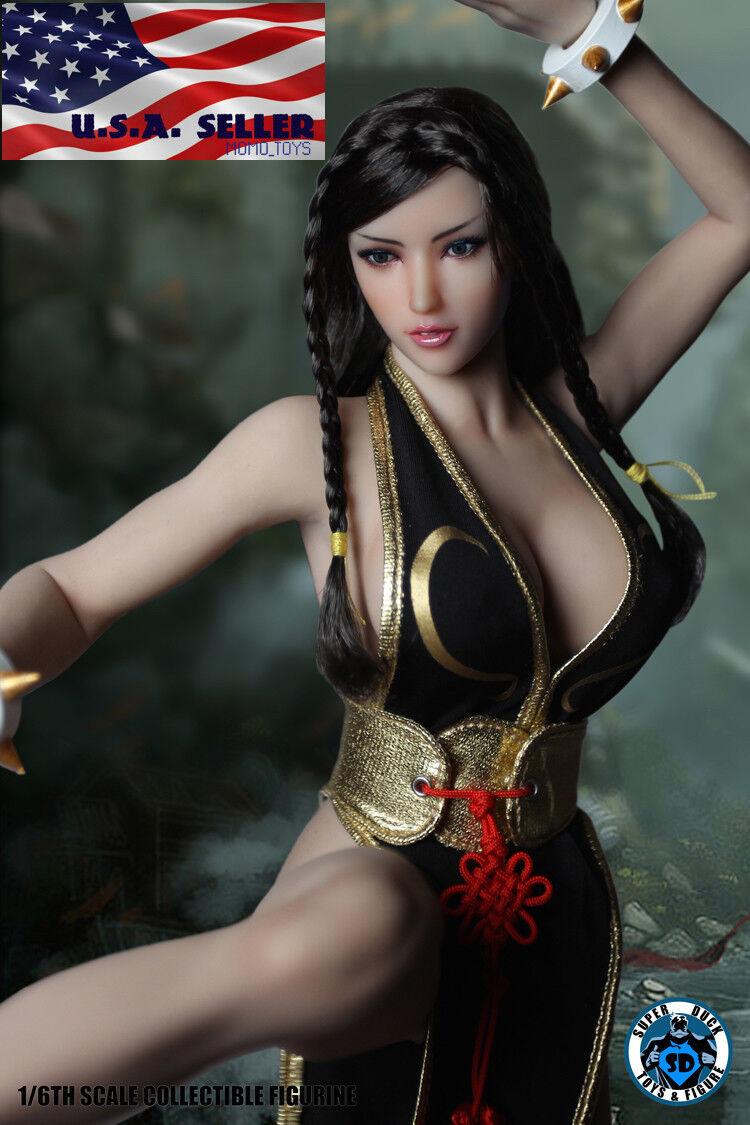 1 6 Chun Li Street Fighter PHICEN Seamless Female Figure Full Set S21B ❶USA❶