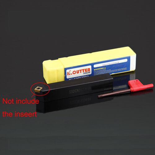 SSDCN 2020K09 20x125mm screw type inner hole boring bar turning tool 45 Degrees