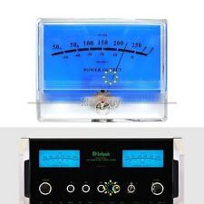 VU Meter DB Level Header Audio Power Amplifier Indicator Meter DB Table Blue