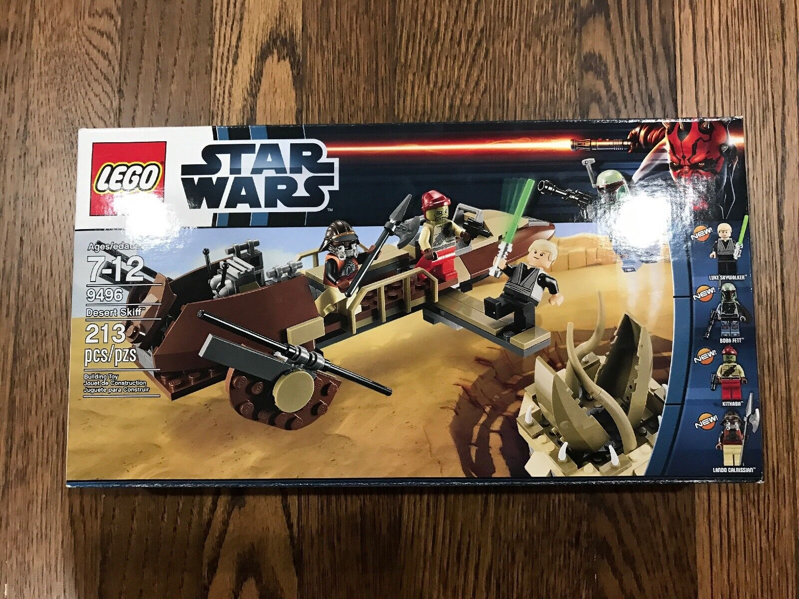 LEGO 9496 Star Star Star Wars Desert Skiff BRAND NEW f5daac