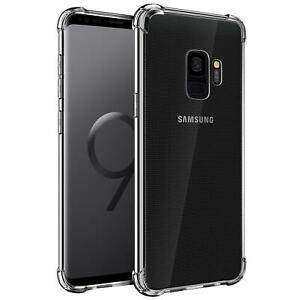 Huelle-fuer-Samsung-Galaxy-S9-Schutzhuelle-Anti-Shock-Handy-Case-Transparent-Cover