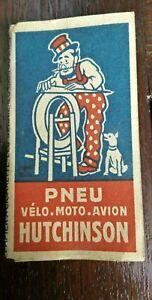 ancien-papier-a-rouler-Hutchinson-velo-moto-avion-publicitaire