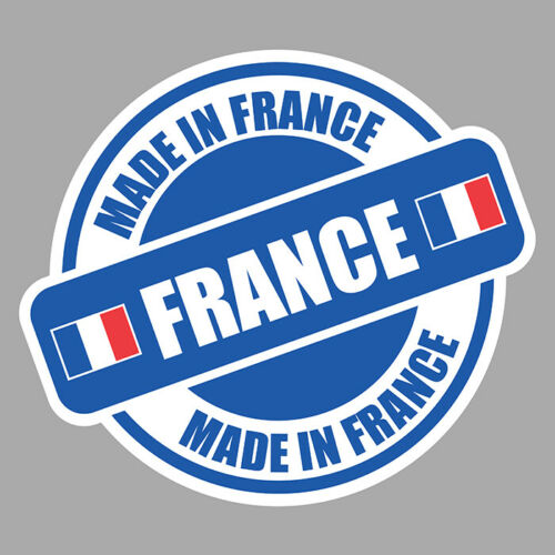 MADE IN FRANCE FABRIQUE EN FRANCE DECAL AUTOCOLLANT STICKER MC140
