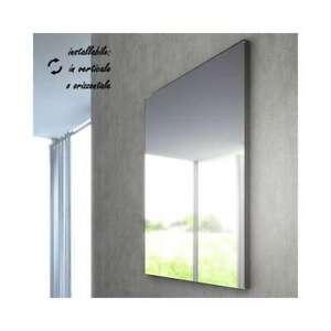 Specchio Bagno 120 X 60.Specchio Da Bagno 60 90 100 120 X 70 Cm Reversibile Filo Lucido
