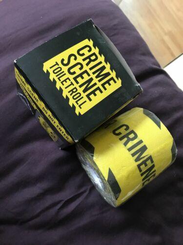Novità bagno carta igienica Loo Thug Life Scena del crimine Stocking Filler regalo