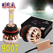 2X 9007 HB5 COB 100W 10000LM Headlight CONVERSION KIT Hi/Lo Dual Beam LED Light