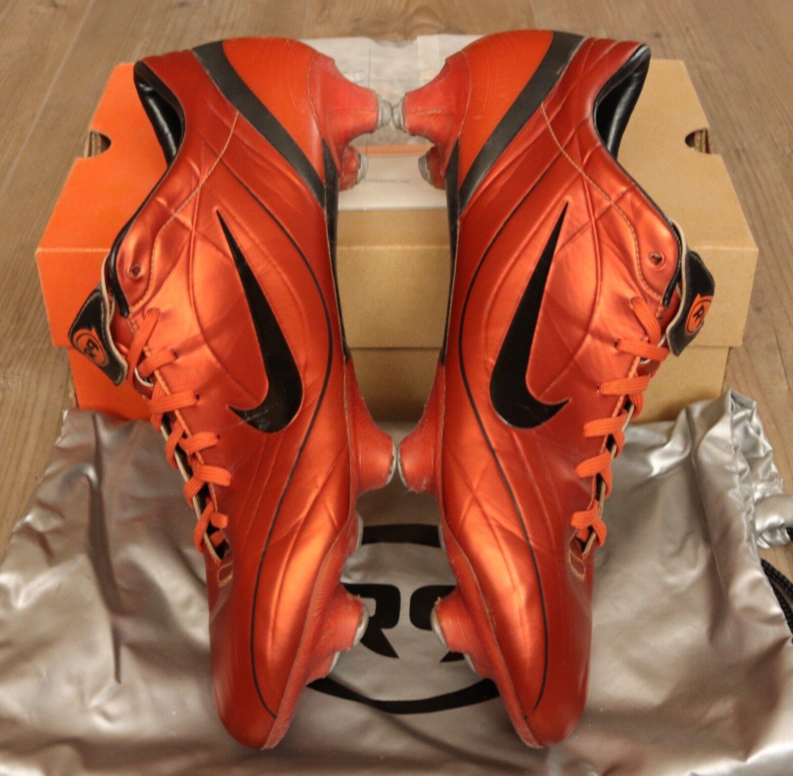 Nike mercurial vapor II sg 47,5 us13 uk12 r9 botas de fútbol súperfly XI Mania SL
