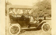 RA108 Exceptional Old RP POSTCARD - Early Model T Ford Vintage Car - 1910s