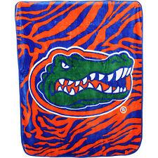 Florida Gators Super Soft Raschel Throw Blanket, 50 x 60 inch