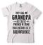 Men/'s Grandpa T-shirt Grandpa Partner In Crime Funny Grandfather Gift T-shirt