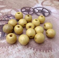 BARGAIN - 50 Wooden Beads Kids Crafts Slight Second
