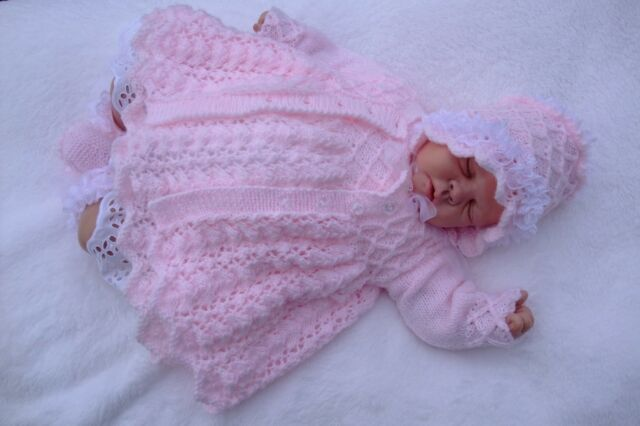 Printed Paper Knitting Pattern To Make Winter Jasmine For Baby Or