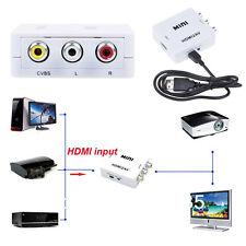 HDMI input Digital to AV RCA Analog Audio/Video Composite CVBS Output Converter