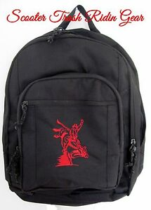 e33af53ab5 Image is loading PERSONALIZED-Bull-rider-Bull-riding-backpack-book-bag-