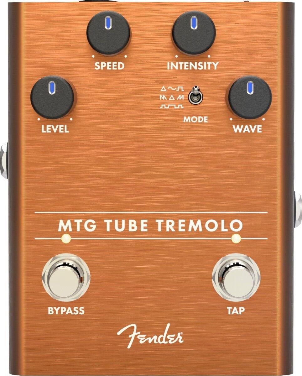 Fender MTG Tube Tremolo Guitar Effect Stomp Box Pedal - 023-4554-000