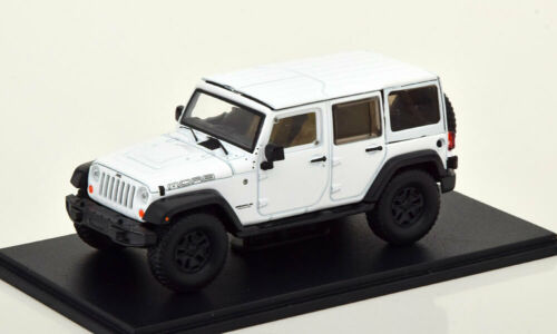 1:43 Greenlight Jeep Wrangler Unlimited MOAB 2013 white