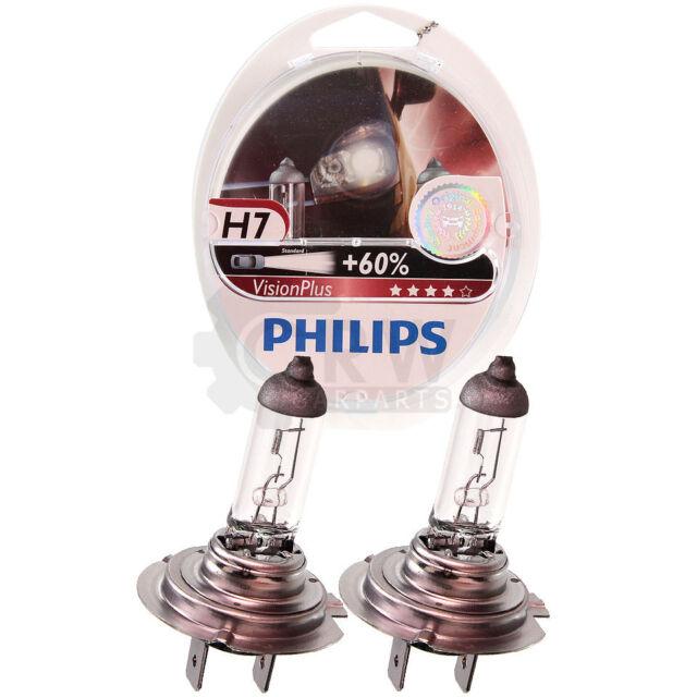 PHILIPS Vision Plus +60% 2x H7 12V 55W PX26d Xgk