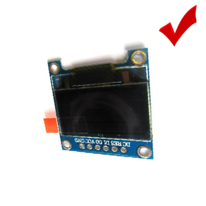 "Adustable Brightness Contrast ScreenIIC+SPI 0.96/"" 128*64 OLED LCD LED Display"