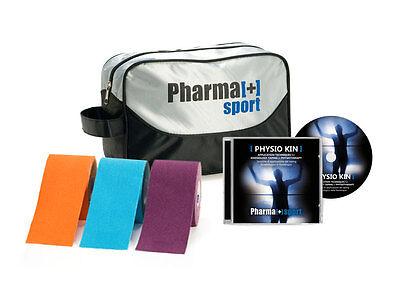 Qualità Al 100% Kit Corso Physio Kin - Taping Neuromuscolare Kinesiologico Colori A Scelta