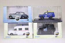 Oxford Diecast; Job Lot of Four 1:76 Scale Cars & Vans, Excellent Boxed