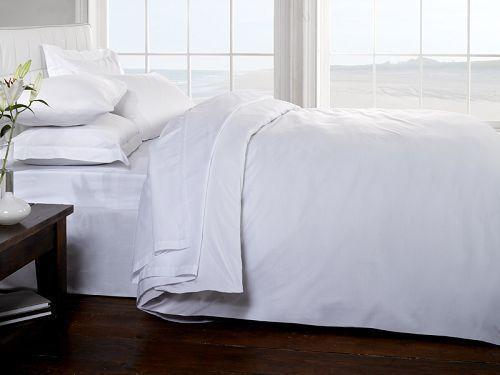 White 100% Egyptian Cotton Pillow Cases 400 Thread Count