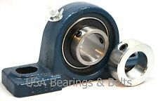 12 In Pillow Block Bearing Ucp201 8 And Solid Shaft Collar Solid Foot P201 Pbsc
