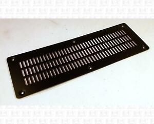 Large-Guitar-Amplifier-Black-Steel-Metal-Grille-Vent-10-25-X-3-4-Inches