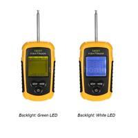 Wireless Fish Finder Sonar Sensor Transducer Depth Sounder Fishing Alarm X6i1