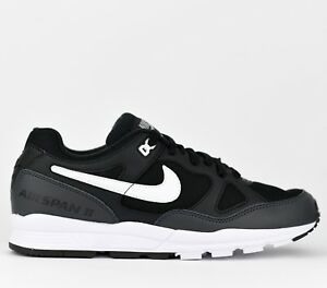 Details about Nike Air Span II 2 Men Lifestyle Sneakers Shoes New Black  White AH8047-008
