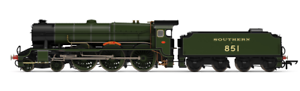 Hornby R3634 Lord Nelson Class 4-6-0 SR No  851 Sir Francis Drake OO Gauge
