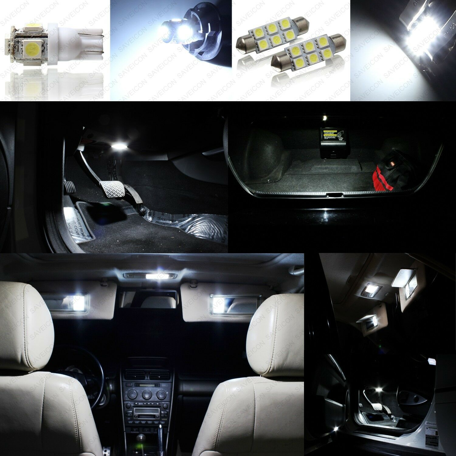 17 x PINK Interior LED Lights Package For 2003-2008 Infiniti FX35 FX45 TOOL