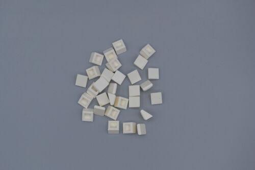 LEGO 30 x Schrägstein 1x1 x 2//3 weiß white roof tile brick 54200 4244370 4504369