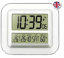 Technoline WS8006 Radio Controlled LCD Digital Wall Clock