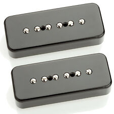 Seymour Duncan SP90-3 Soapbar P-90 Set black Neck & Bridge NEW SP90-3n SP90-3b