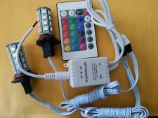 H8 H9 H11 RGB COLOR CHANGING HEADLIGHT FOG LIGHT 24 KEY IR CONTROLLER
