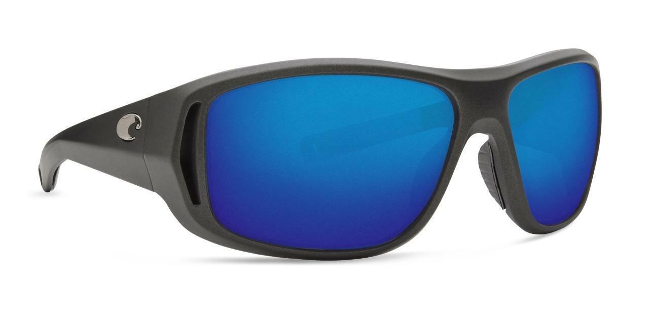 Costa Del Mar MONTAUK Polarized Sunglasses Matte Steel bluee Mirror Glass 400G