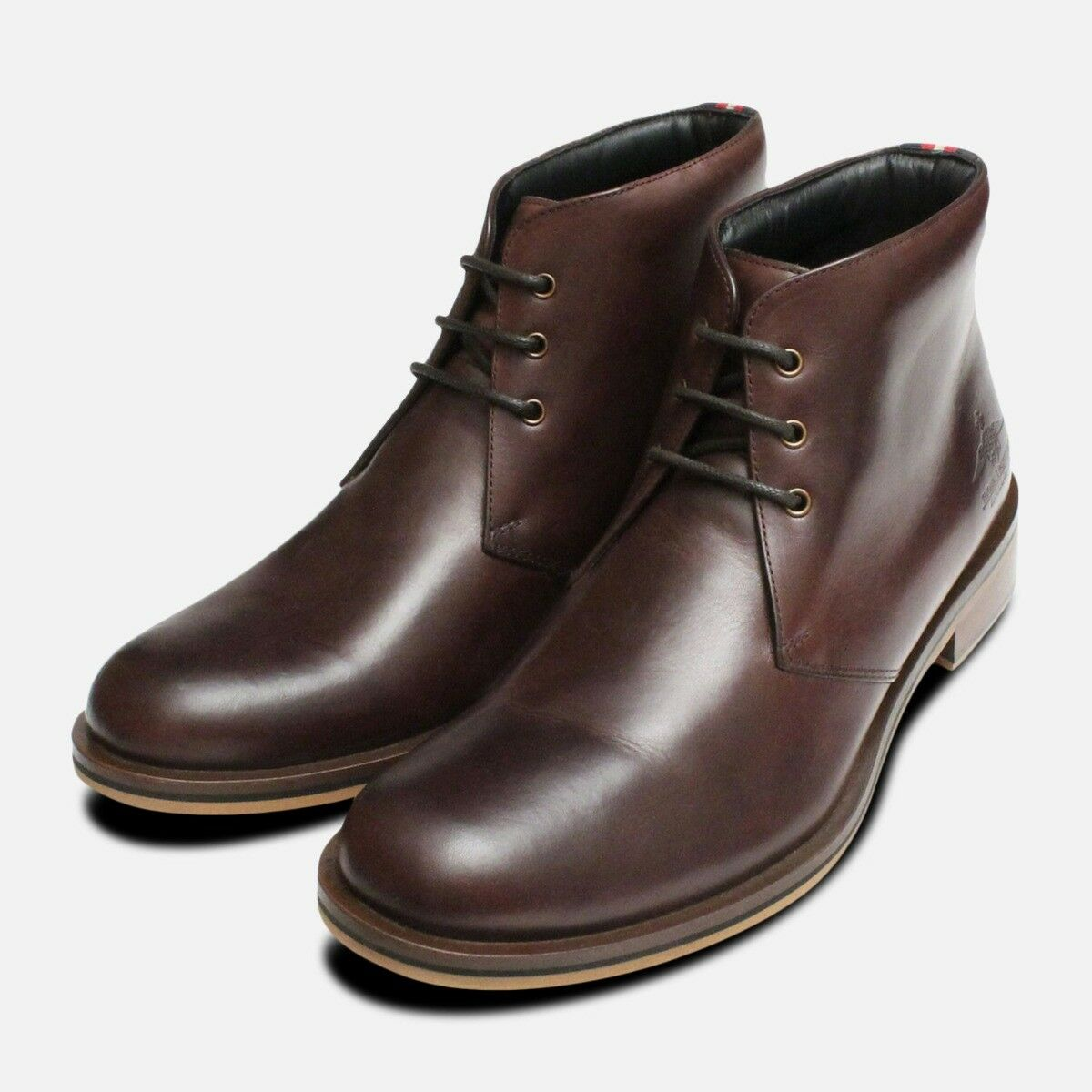 Thomas Partridge Homme Marron Digby Chukka Bottes