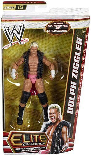 WWE ELITE Collection Series   19_DOLPH ZIGGLER 6 inch action figure_Nuovo_Unopened