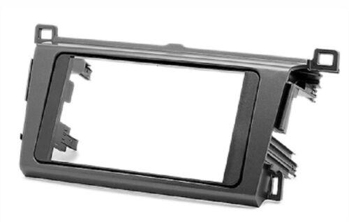 Carav 11-343 autoradio radio diafragma para toyota rav4 2013 doble DIN nuevo