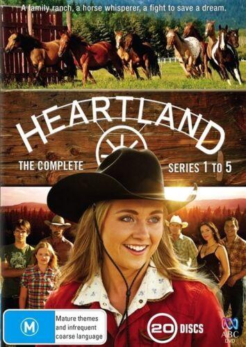1 of 1 - HEARTLAND Series : Seasons 1 -  5 : NEW DVD