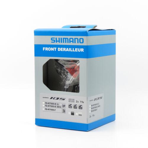 Box Shimano 105 FD-R7000-F 2 x 11 speed Road Bike Braze-on Front Derailleur