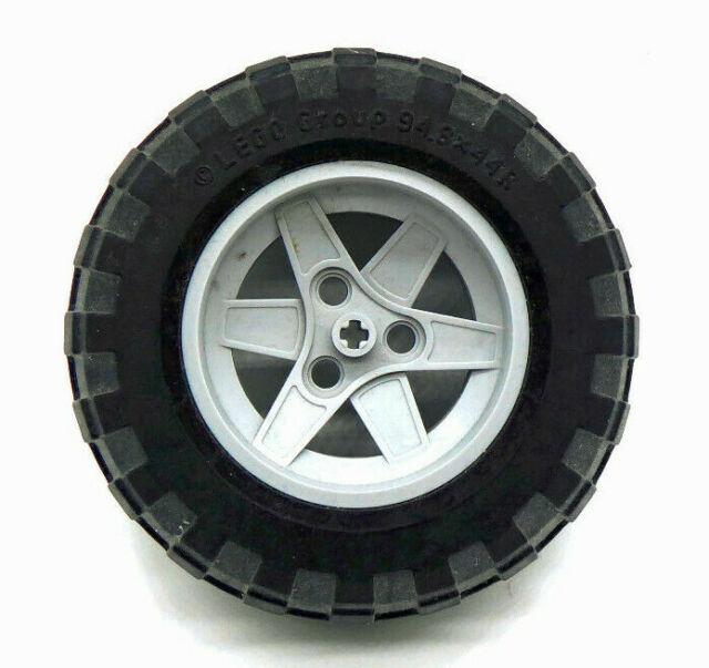 technic Felge 81,6x38 wheel graue Felge Lego ® 1x Reifen Technik