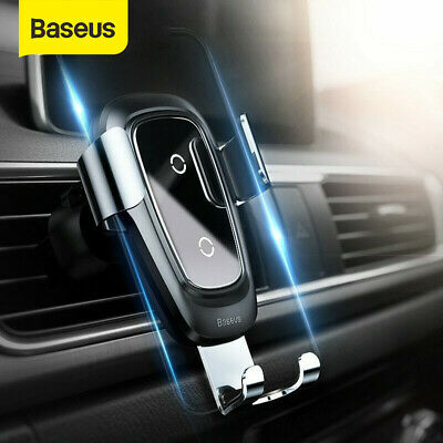 Baseus Automatic Wireless Fast Car Charging Charger Mount Clamping Phone Holder 758762012563 | eBay