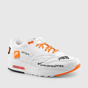 nike air max 1 se white / white / total orange