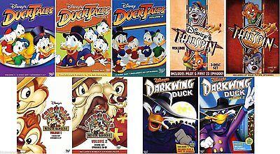Ducktales Darkwing Duck Tailspin Chip Dale Dvd Set Lot Disney Series Tv Show Box Ebay