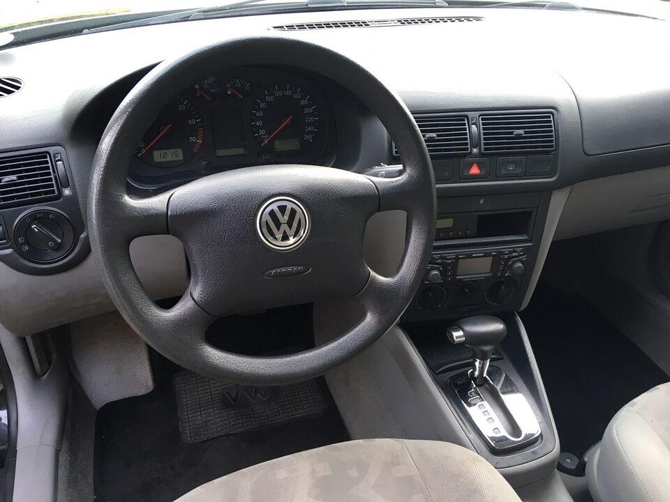 VW Golf IV, 1,6 aut., Benzin