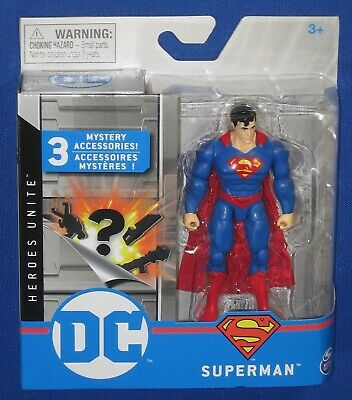 SUPERMAN DC Heroes Unite by Spin Master 2020 First Edition 3.75 Inch #20122141
