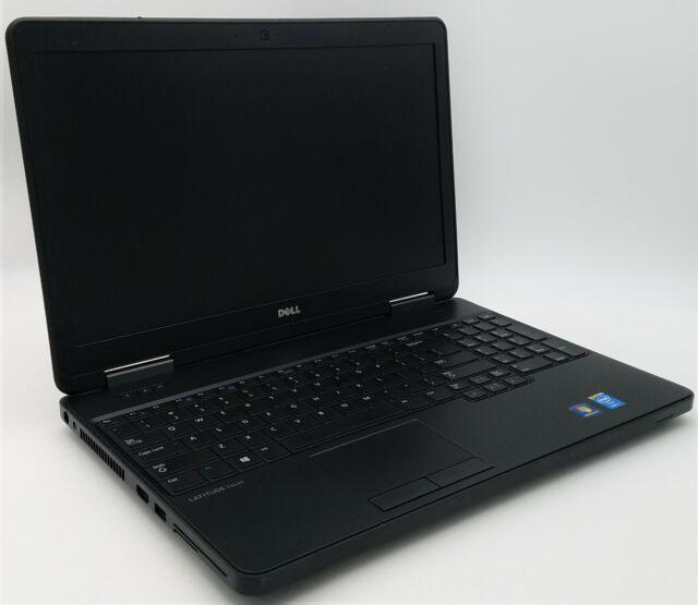 """Dell 15.6"""" Latitude E5540 Intel Core i7-4600U 2.10GHz 8GB RAM 128GB SSD Win 10"""